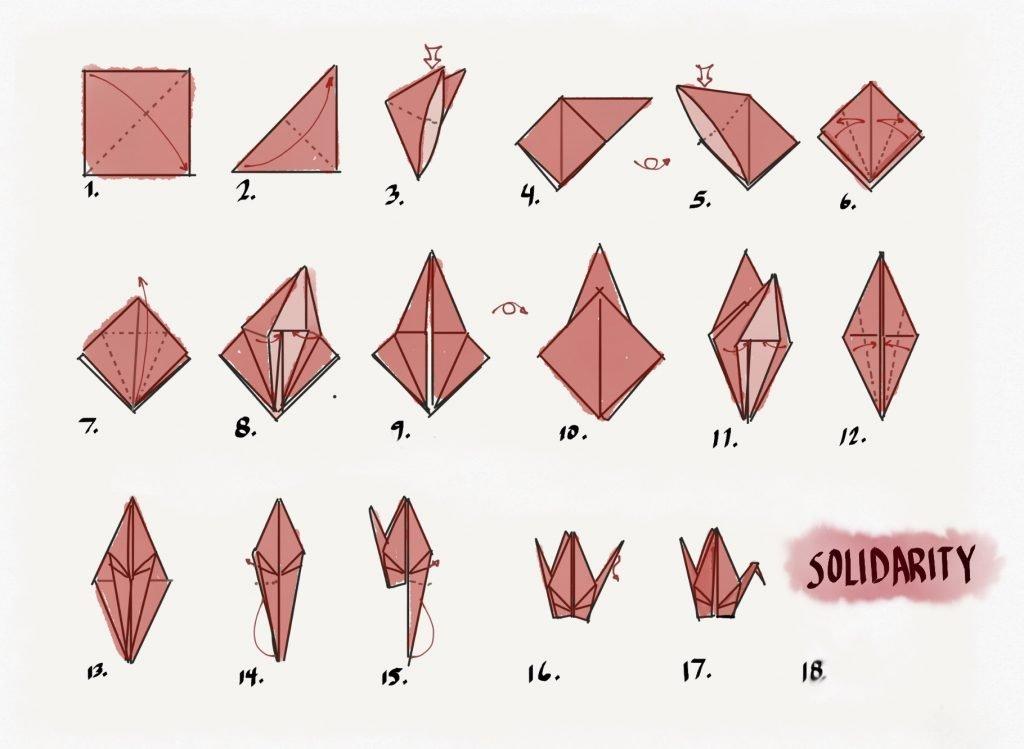 tsuru folding instructions