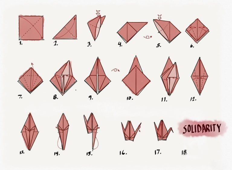 tsuru folding instructions