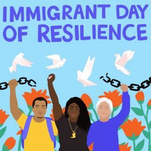 Satsuki Ina was also depicted in a mural for Immigrant Day of Resilience: https://unitedwedream.org/immigrant-day-of-resilience/